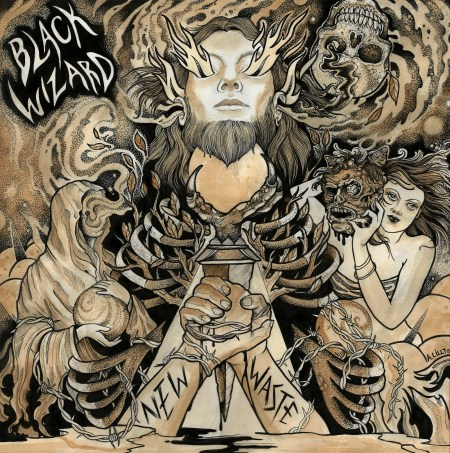 BLACK WIZARD New Waste cover