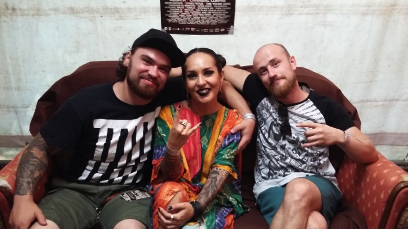 You are currently viewing JINJER <br/> Rencontre au Motocultor Festival 2018