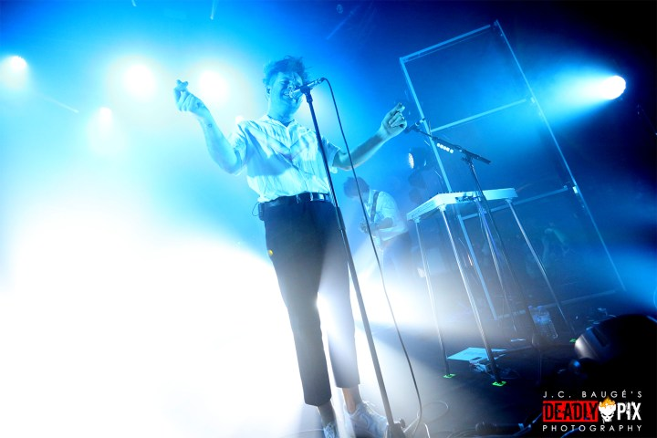 Enter Shikari; Roughton Reynolds; Chris Batten; Les Paradis Artificiels; Le Splendid; Hellemmes; 27.03.2019