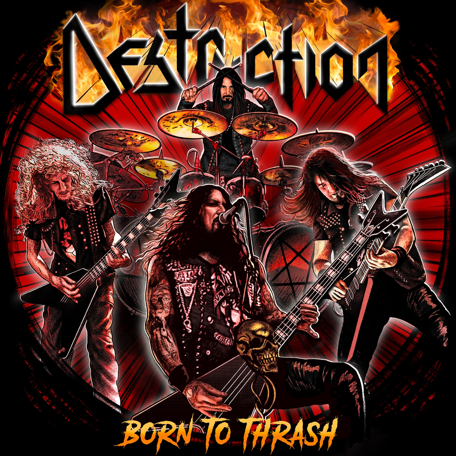 DESTRUCTION <br/> Born to Thrash
