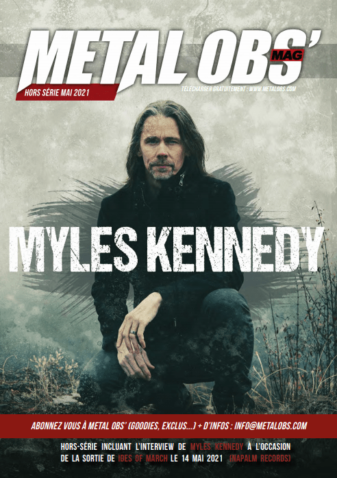 You are currently viewing Hors-Série Mai 2021 : spécial Myles Kennedy
