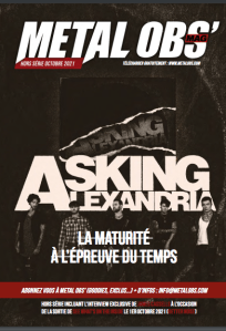 Read more about the article Hors-série Octobre 2021 : Asking Alexandria