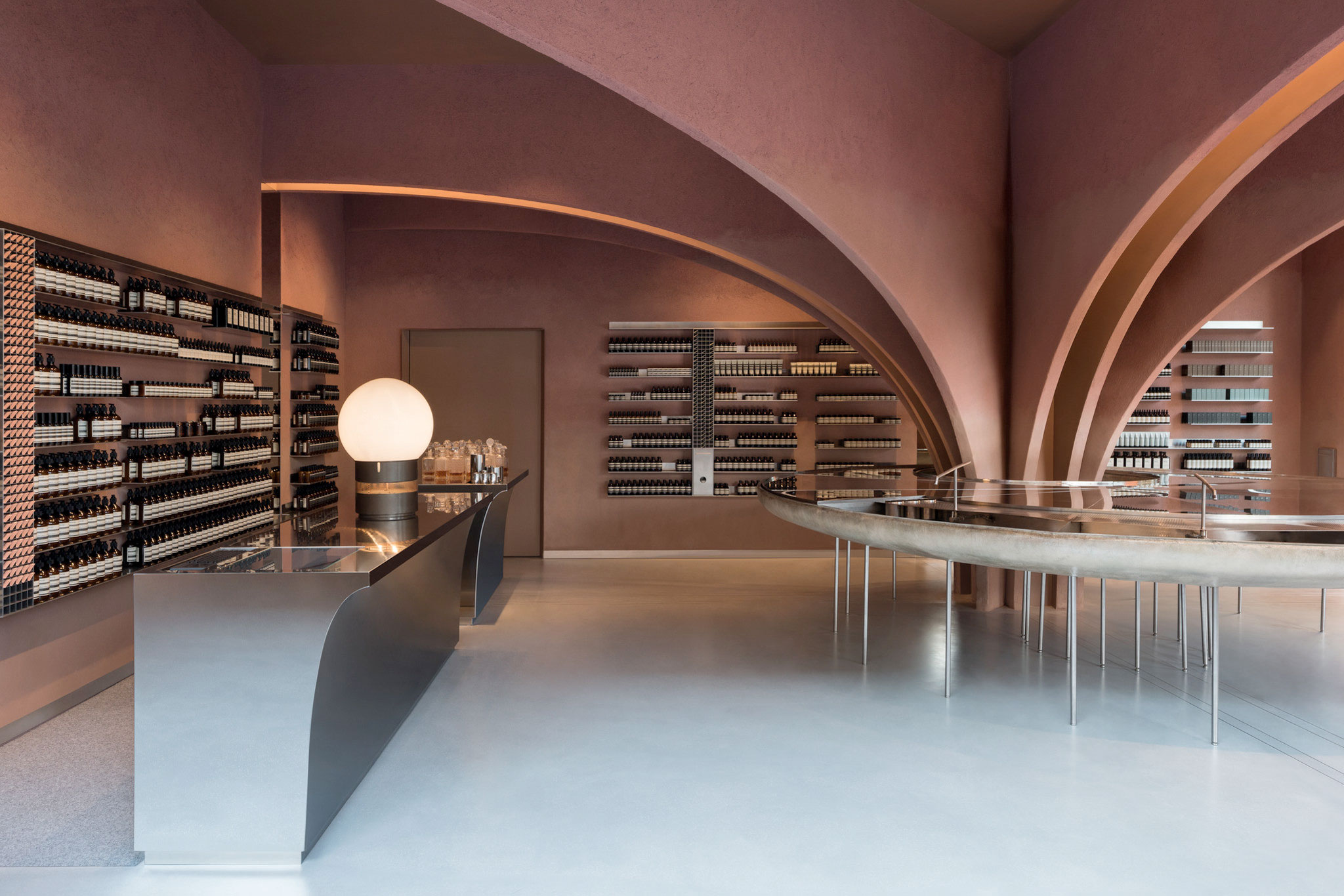 Niemeyer Or Postmodern Arches New Aesop Shop In Duke Of