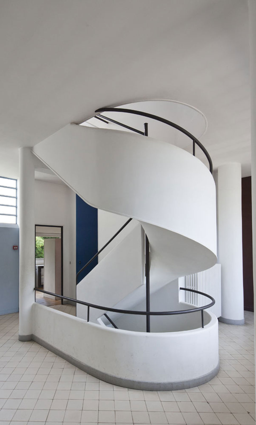 Corbusier France Savoye Le 1928 Poissy Villa