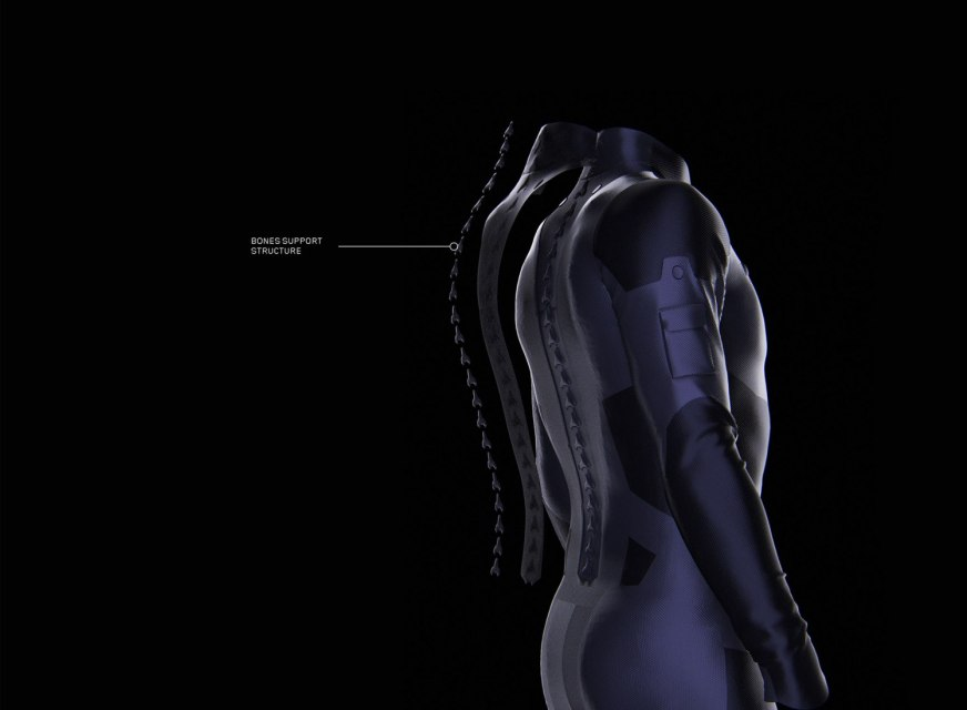 SpaceX - Flight Suit by CLEMENT BALAVOINE | The Strength ...