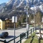 La stazione pluviometrica di ARPA Piemonte a San Domenico