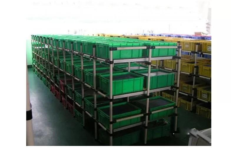heavy duty steel pipe storage rack