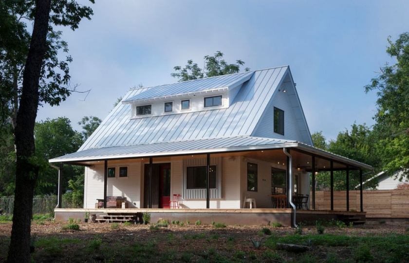 galvalume color standing metal roof
