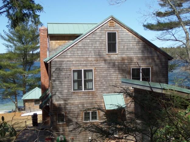 Green Standing Seam Roof