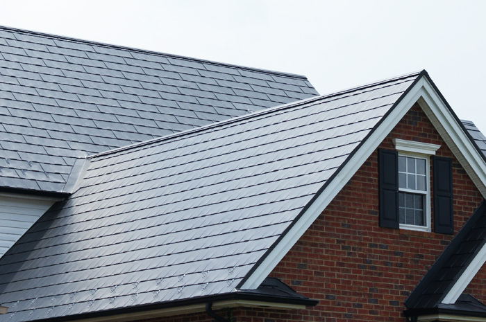 Metal shingles from Metal Roof Outlet on an Ontario home