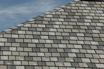 Slate-style steel metal roof from Metal Roof Outlet in Ontario