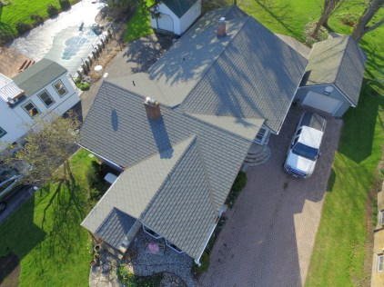 Granite-Ridge metal shingle roofing in Port Rowan from Metal Roof Outlet