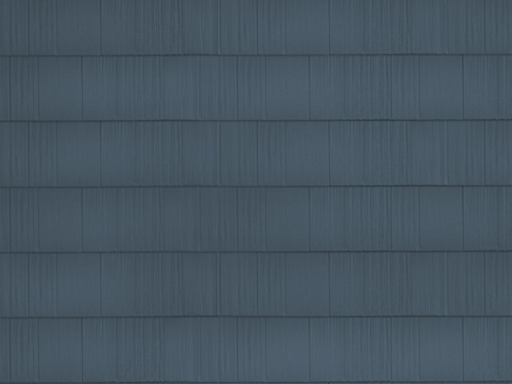 sample image of Arrowline Shake-style metal roofing in Classic-Blue available from Metal Roof Outlet
