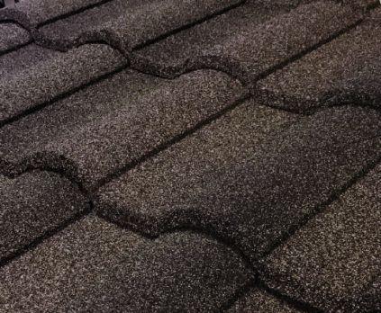 Barrel Vault Stone Coated Metal Tile Roof - Timberwood
