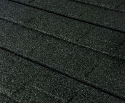 Granite Ridge Stone-Coated Metal Shingles - Charcoal