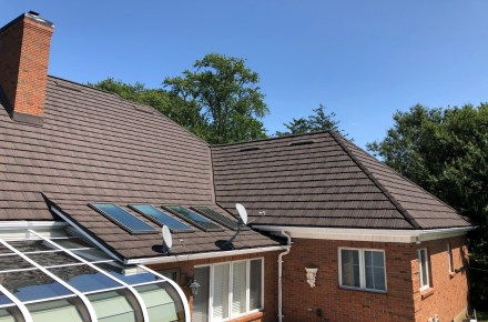 metal roofing Boral Steel Pinecrest Shake Timberwood