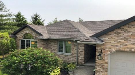metal roofing Shingle Boral Steel Granite Ridge Timberwood
