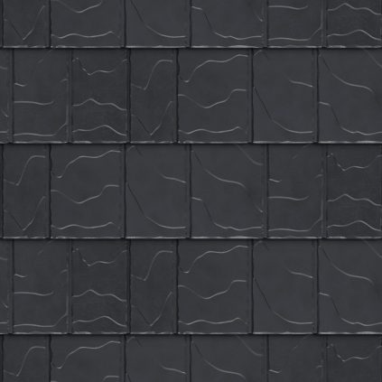 VicWest True North North Ridge Slate product image in the colour Shadow Deep Gray Signature Matte (Variation)