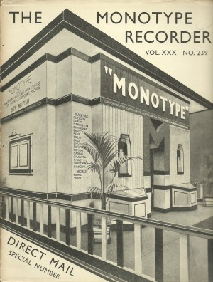 The Monotype Recorder