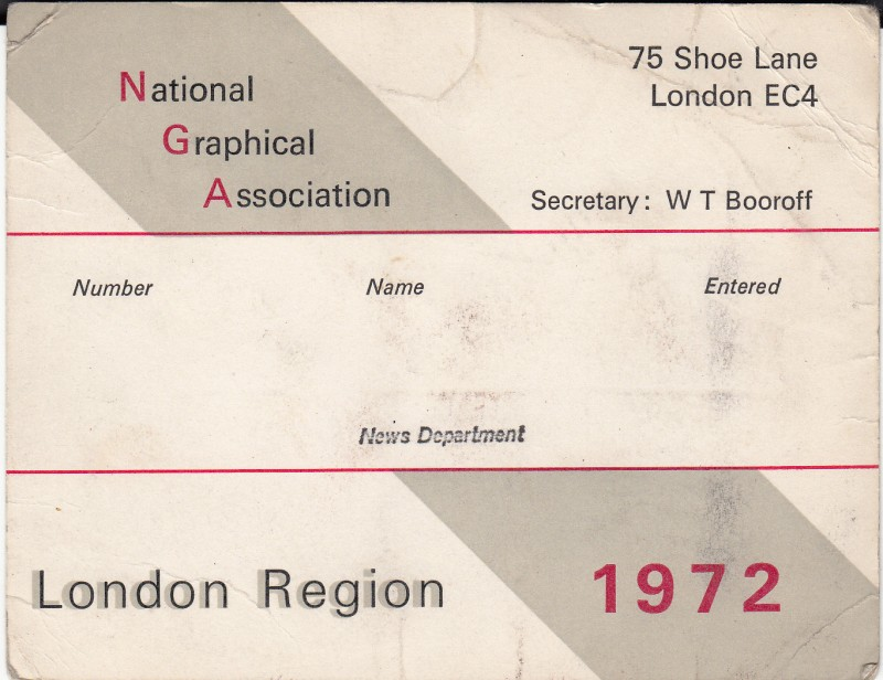 National Graphical Association 1972