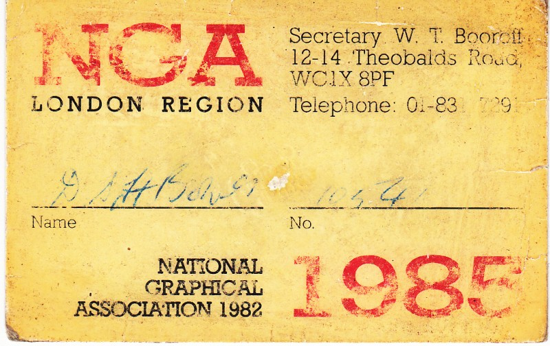 National Graphical Association 1985