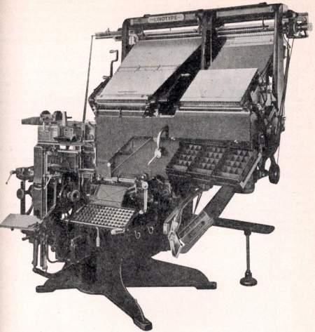 Linotype Model 32