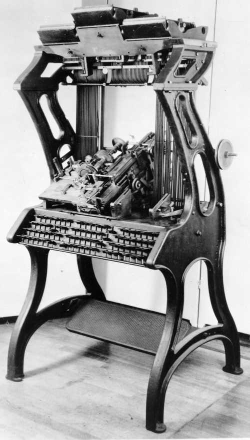 Empire Typesetter 1894