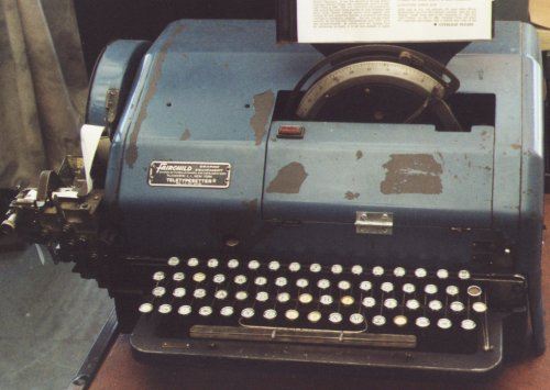 Fairchild TTS perforating keyboard