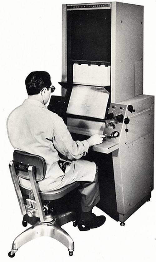 Linofilm Composer