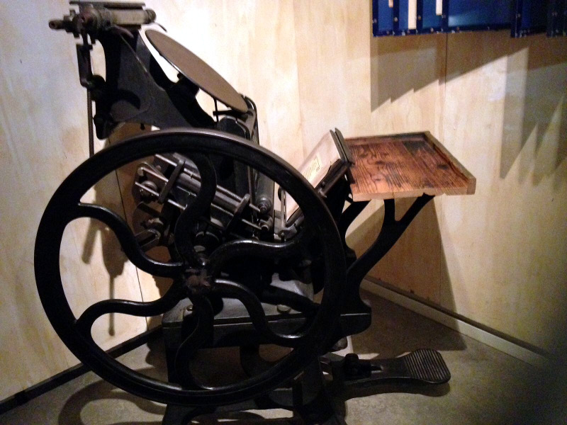 Old press