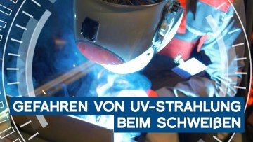 So gefährlich ist UV-Strahlung beim Schweißen   METAL WORKS-TV