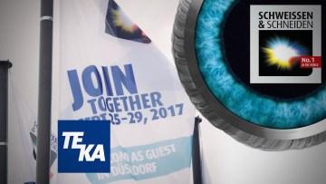 TEKA auf der SCHWEISSEN & SCHNEIDEN 2017