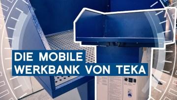 TEKA Mobile Werkbank mit Airtoo | Intec 2019 Leipzig | METAL WORKS-TV