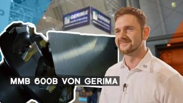 Gerima: Anfasmaschine für besonders große Materialstärken