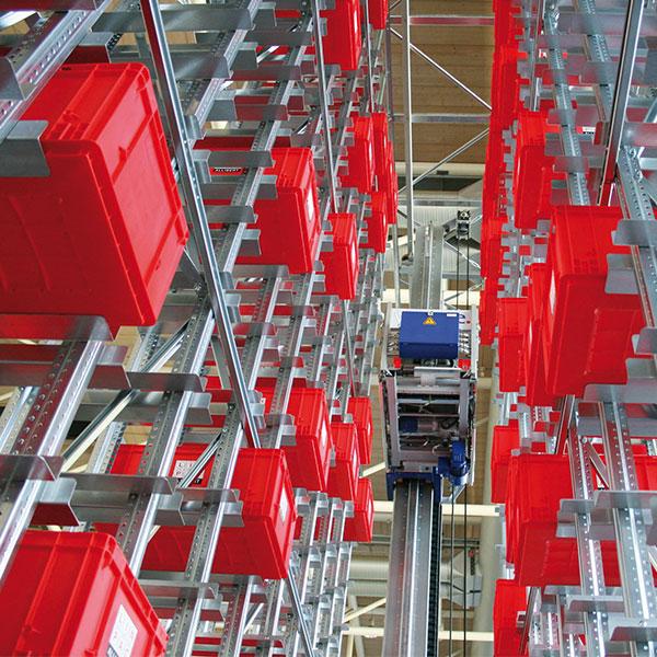 META magazijninrichting NEDERLAND dynamische stelling shuttles
