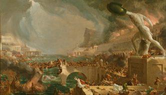 Thomas Cole, The Course of Empire: Destruction