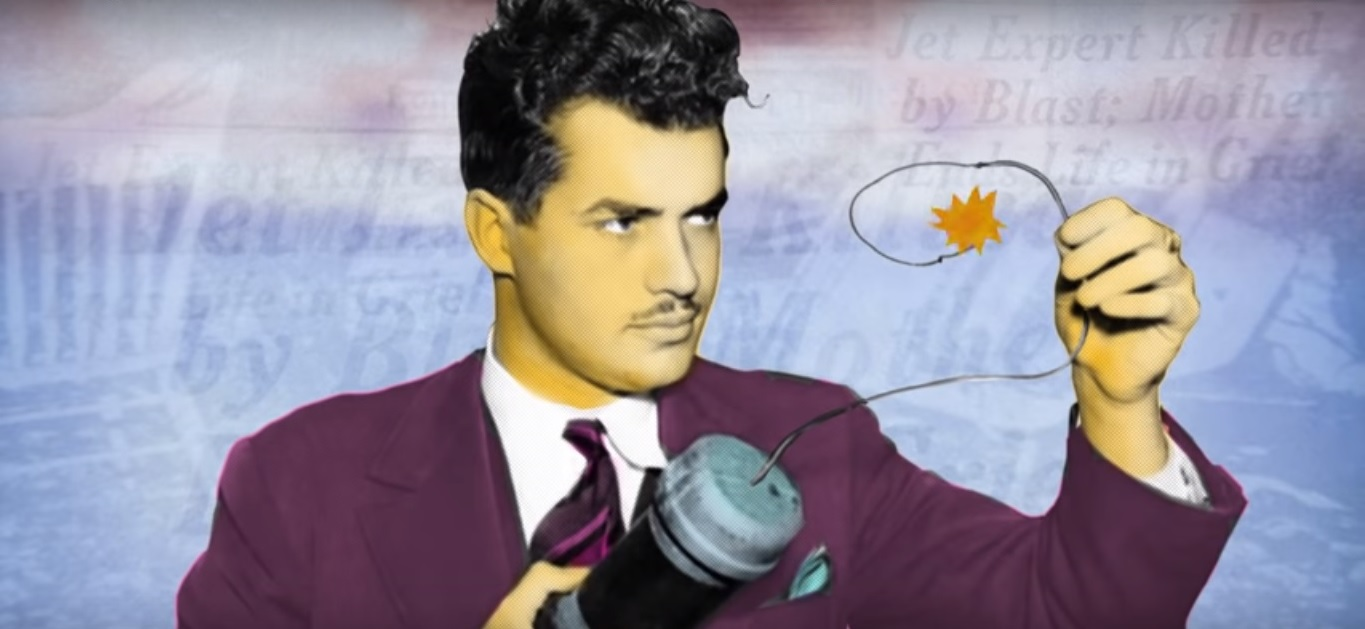 Illustration: Jack Parsons in a screenshot from the video above.