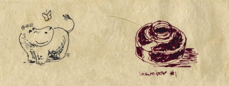 Inktober 2014 doodles but Kir Talmage
