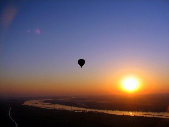 Sunrise Over The Nile4