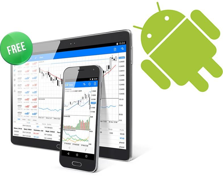 Descargue MetaTrader 4 Android gratis