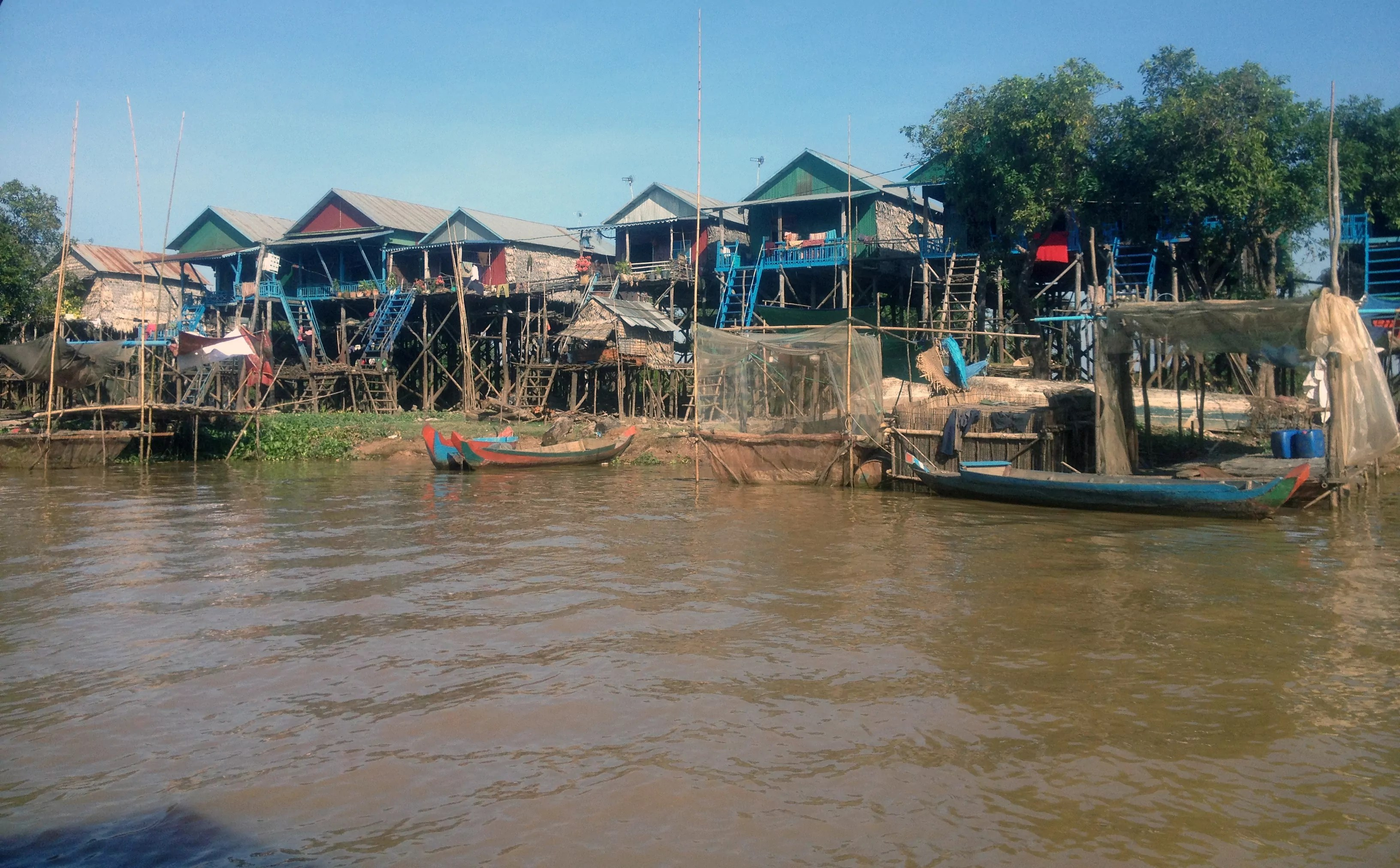 floating Cambodian village