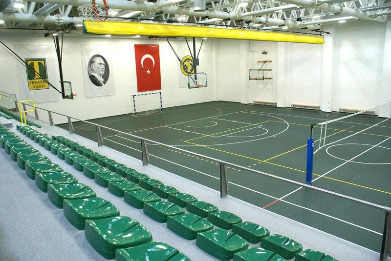 Şişli Terakki Vakıf Okulu Spor Salonu / İstanbul