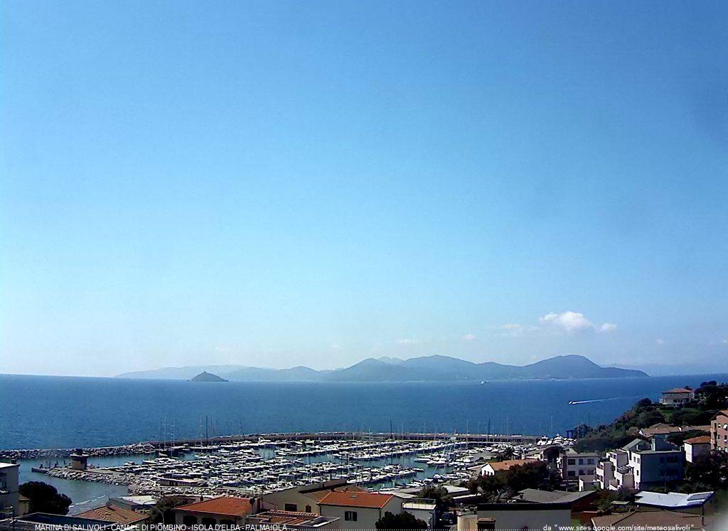 Salivoli - Piombino - Vista sull'Isola d'Elba