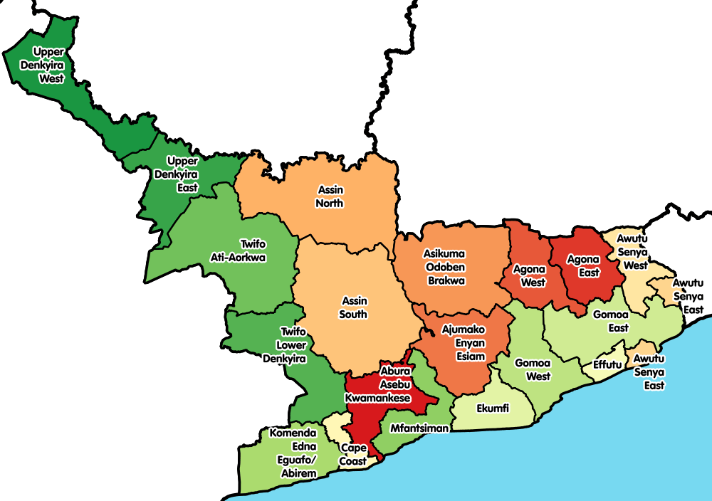 Regional Weather - Central Region