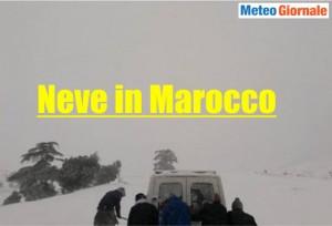 immagine news cronaca-meteo-marocco-grandi-nevicate
