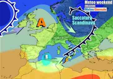 METEO 7 Giorni. Apertura PERIODO INSTABILE e forte maltempo verso il Sud