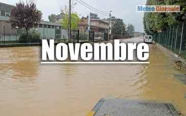 Novembre è il mese del meteo cattivo: cicloni mediterranei, ci siamo