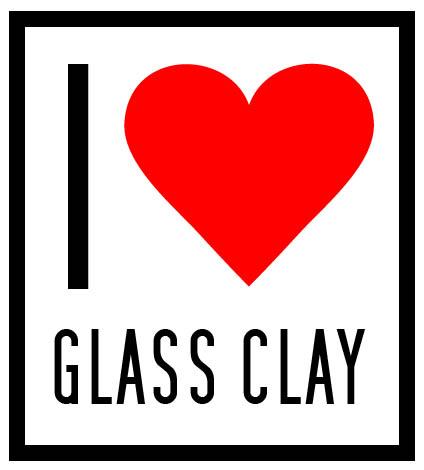 I love glass clay