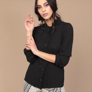 Camicia nera donna