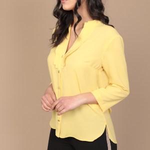camicia gialla primavera